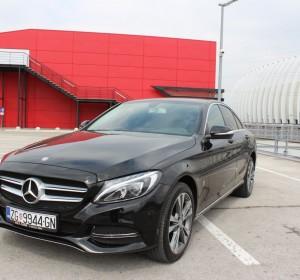 Mercedes-Benz C200 BLUEtec -Automatik -BI XENON – LED -KOŽA – NAVIGACIJA – KEYLESS GO –
