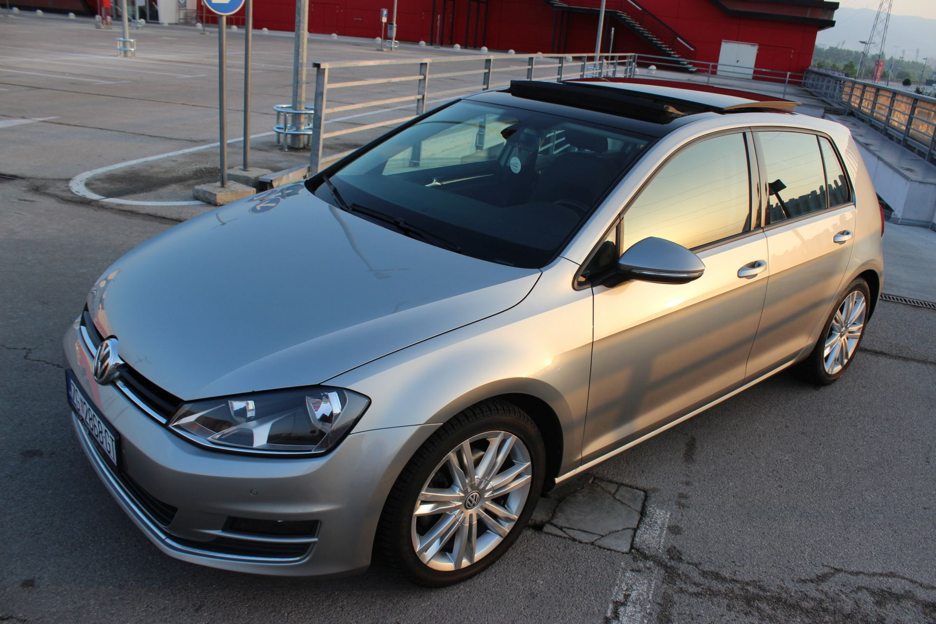 volkswagen golf vii 2 0tdi 150ks highline panorama. Black Bedroom Furniture Sets. Home Design Ideas