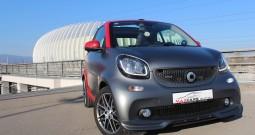SMART fortwo Cabrio BRABUS – Carbon Edition – Kožna sjedala – Navigacija – Grijanje sjedala – Aktivni tempomat – F1 –