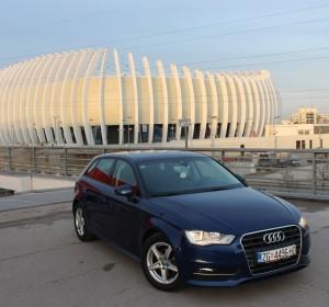 Audi A3 SB 1.6 TDI – Attraction – Senzori – Navigacija – Mf volan – Aktivni tempomat –