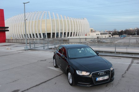 Audi A3 SB 1.6 TDI Sportpaket – Ambiente – Navigacija – Koža – Mf volan – Senzori – Grijanje sjedala –